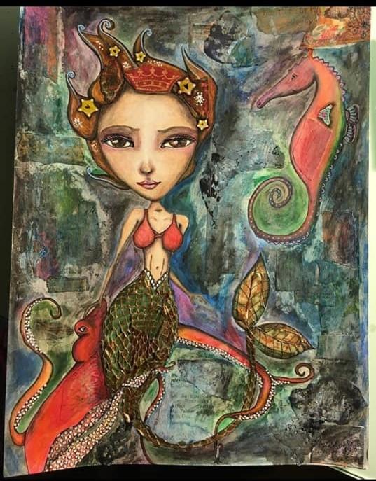 The Little Mermaid Painting