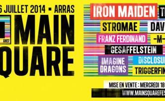 Stromae et iron maiden au mainsquare festival 2014