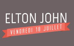 Elton John aux  Vieilles Charrues 2014