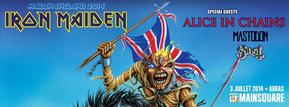 Iron Maiden - Mainsquare 2014