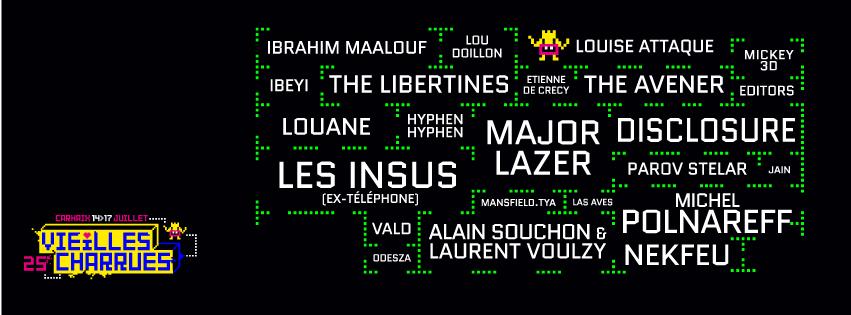 Vieilles Charrues 2016 Louise Attaque, Mickey 3D, Nekfeu ...