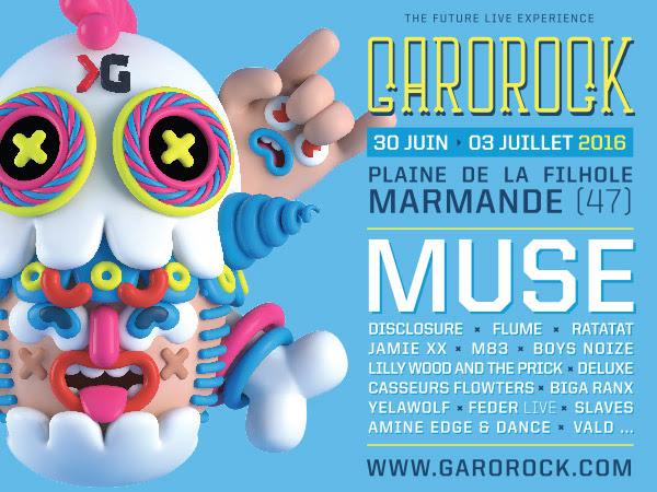 garorock 2016 Muse