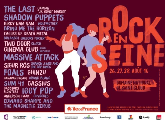 ROCK EN SEINE - LES PREMIERS NOMS!