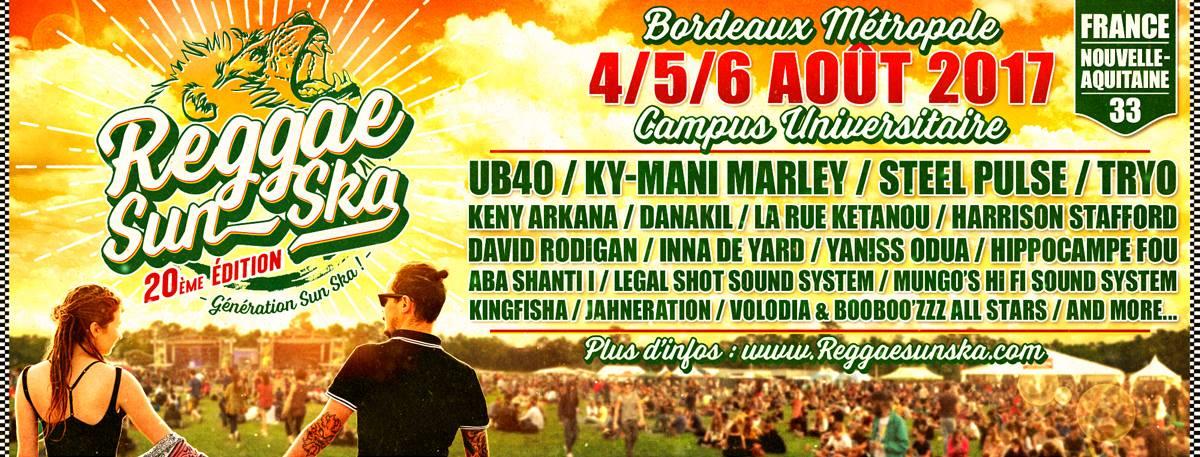 Reggae Sun Ska 2017 : Les premiers noms, et le grand retour des têtes d'affiches françaises