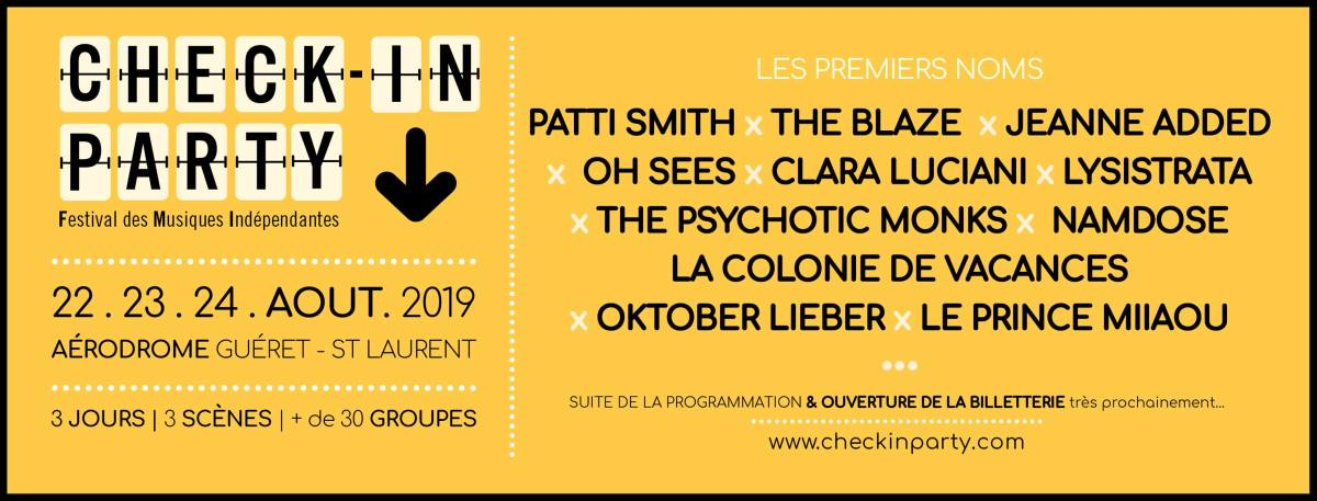 Check In Party : La belle surprise indé' de ce début d'année