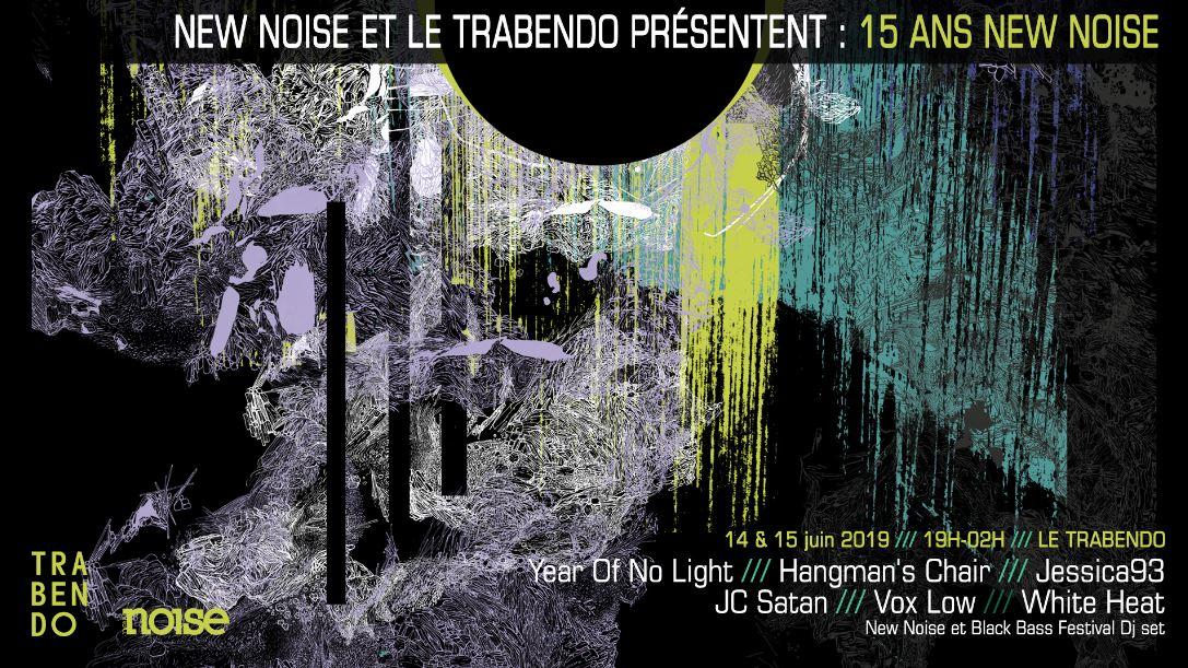 New Noise : 15 piges et 2 soirées en Juin au Trabendo