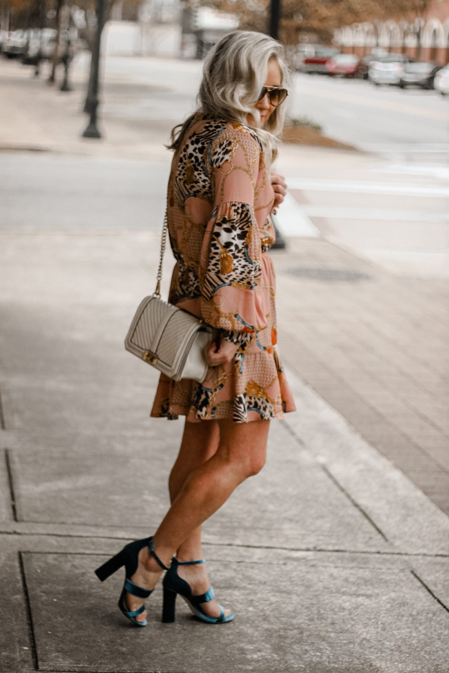 chain link dress