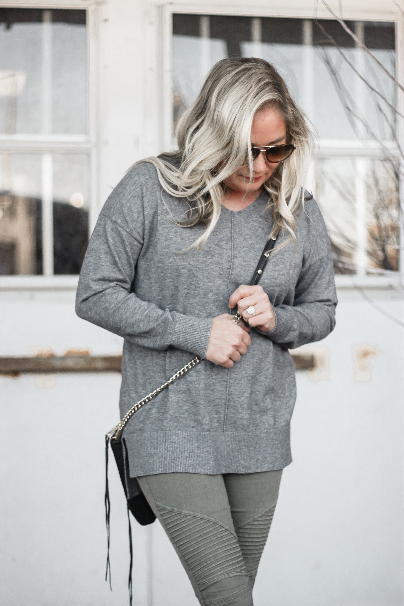 grey amazon prime sweater