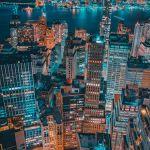 A Night Above Lower Manhattan