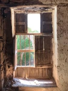 Al Ula Farm House Window saudi arabia