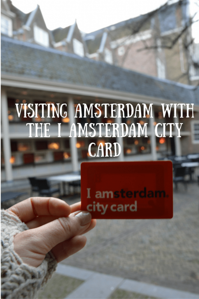 Using the IAmsterdam Card to Explore Amsterdam