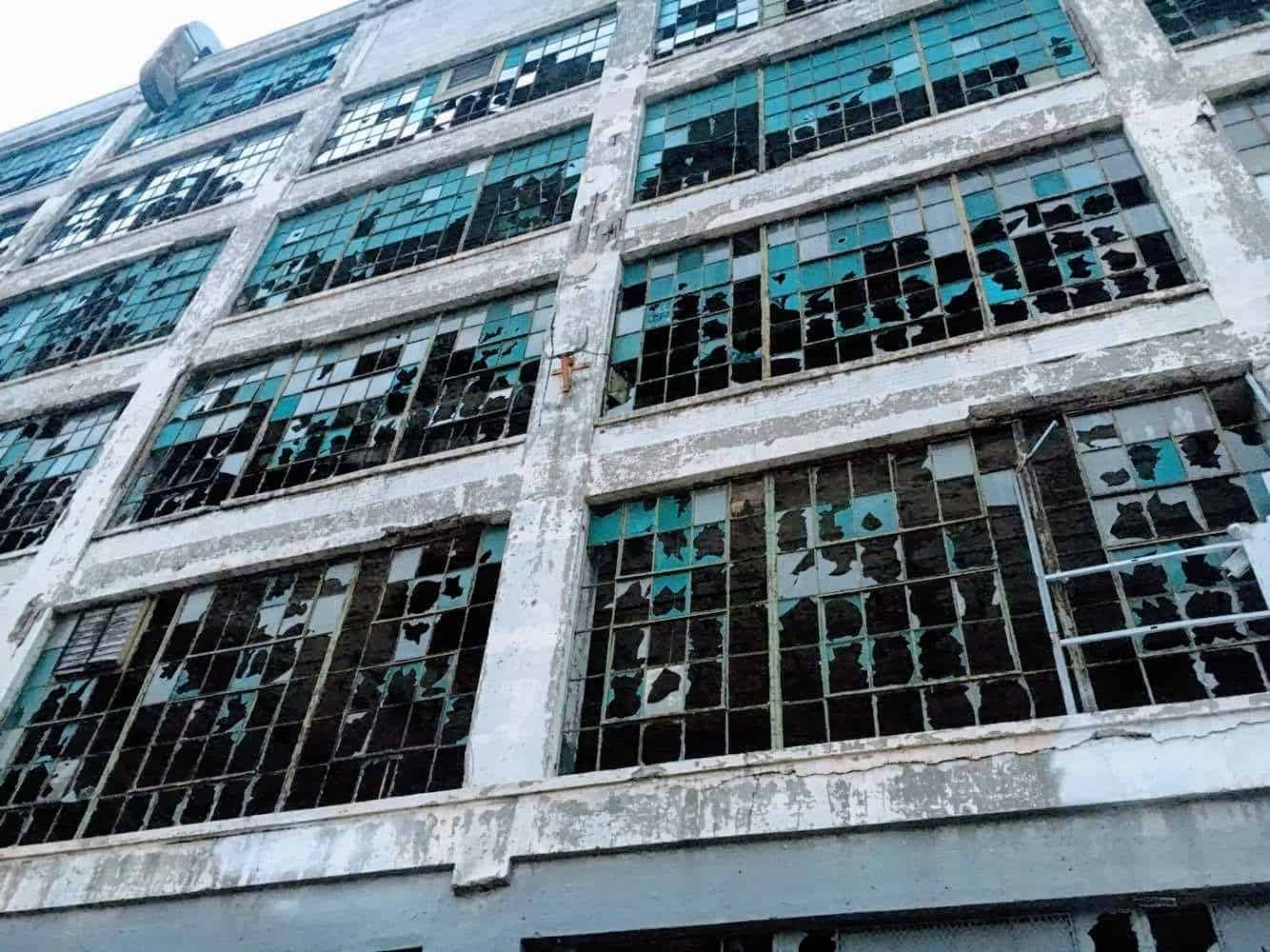 Abandoned Factory in Detroit