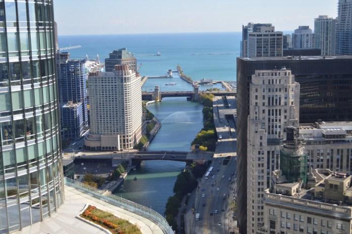Chicago Bridge Raises Chicago Blogger Travel Blogger Midwest