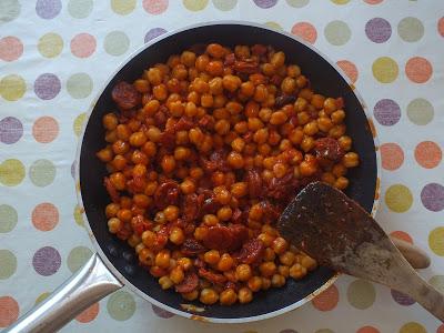 Les classiques Espagnols 2 : Pois-chiches à la Catalane