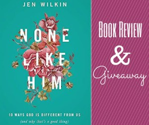 None Like Him Book Review and Giveaway