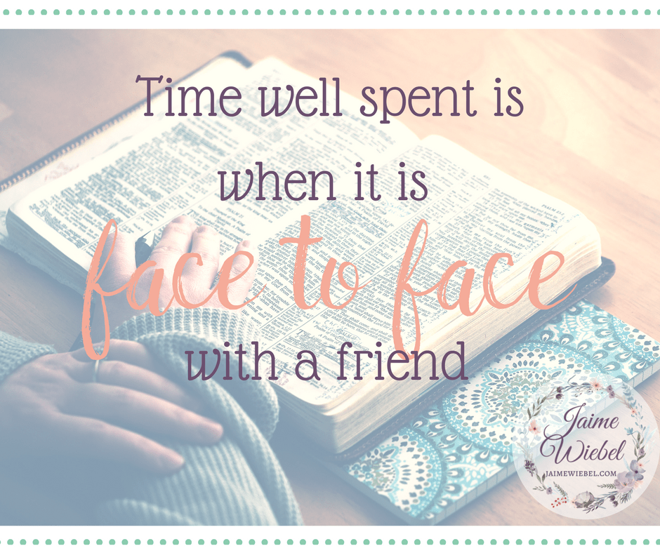 The Cherished Moments: Face to Face with a Friend