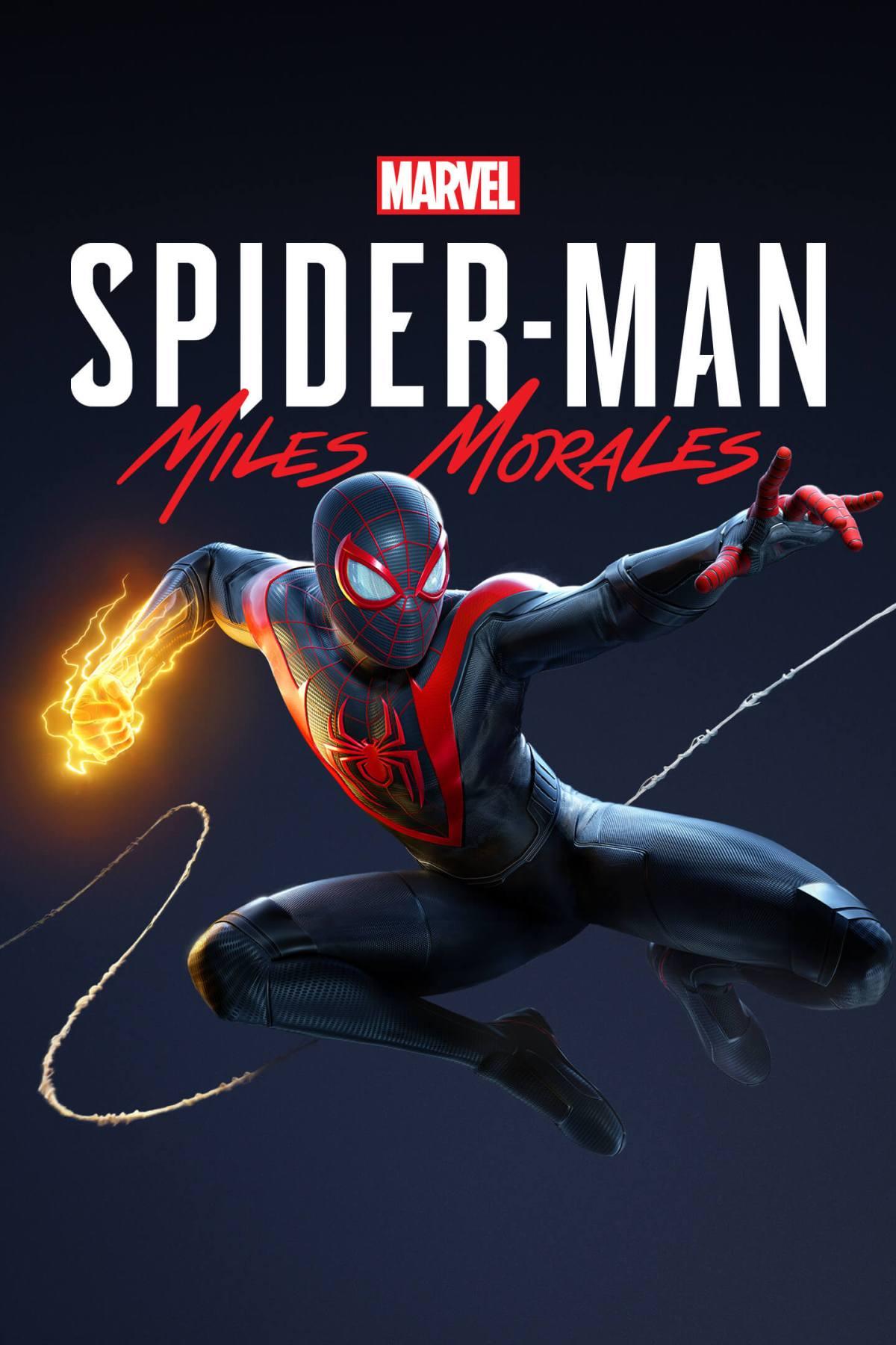 Spider-Man: Miles Morales Box Art