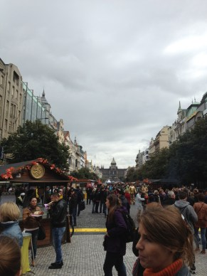 Prague's markets are beautiful!