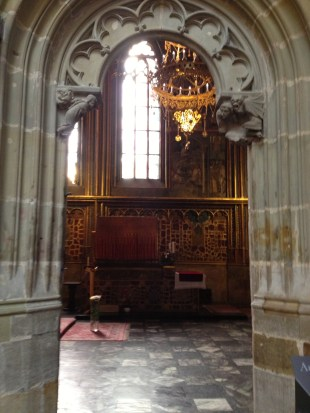 St. Wenceslas chapel.