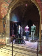 Harry's green screen invisibility cloak.