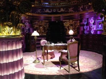 Umbridge's scary office.