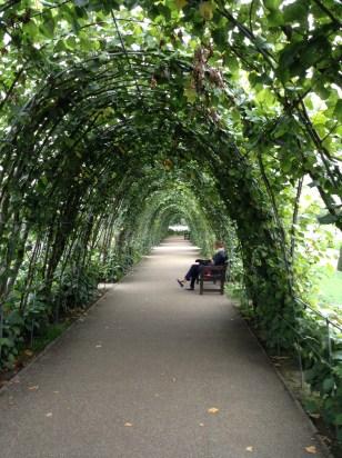 The gardens at Kensington were stunning.