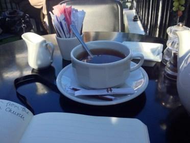 English breakfast tea, of course.