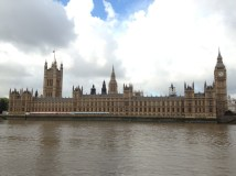 Parliament from the other side of the river.