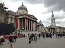 National Portrait Gallery at Trafalgar Square.