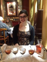 Our one fancy dinner in the Latin Quarter.