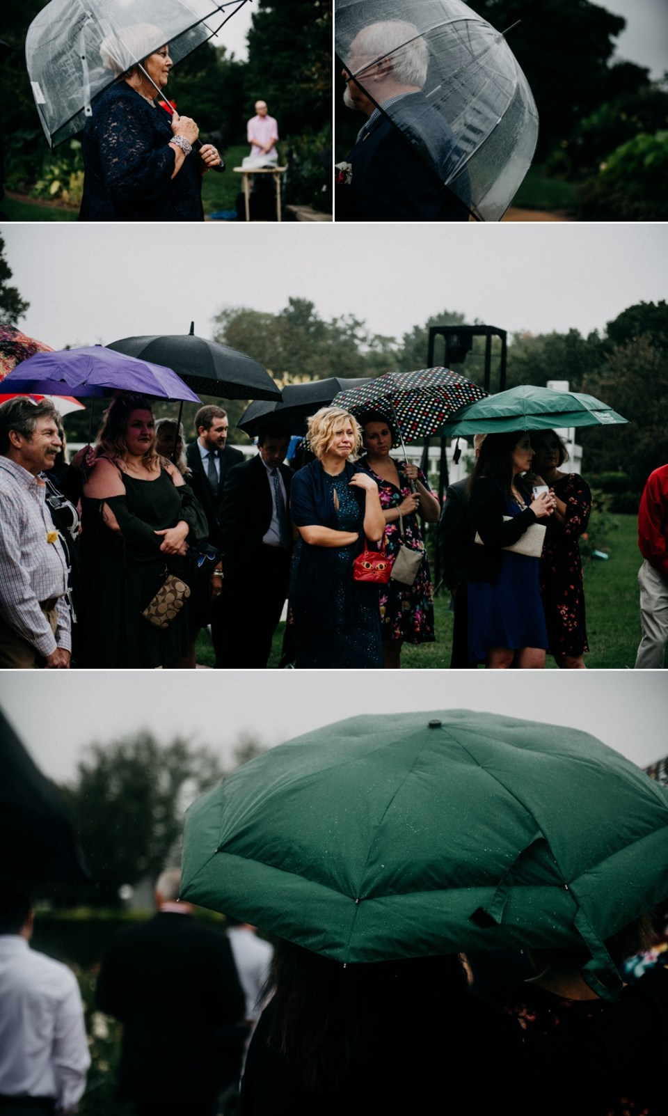 Rainy Day Wedding Photos in St Louis