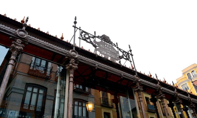 Spanje Madrid Mercado de San Miguel