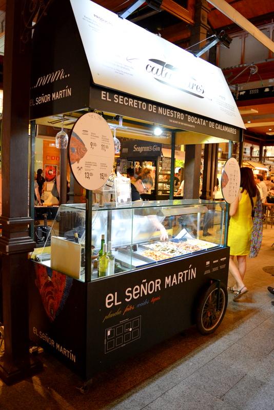 Mercado de San Miguel Madrid Spanje