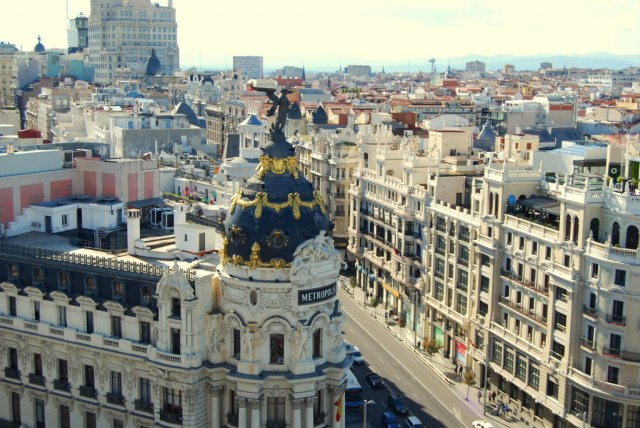madrid roof