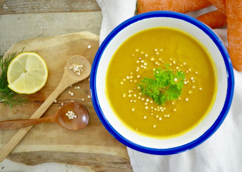 Kerst recept: Pompoen Wortelsoep www.jaimyskitchen.nl