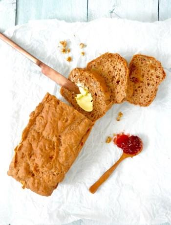 Glutenvrij brood met walnoot en vijg www.jaimyskitchen.nl