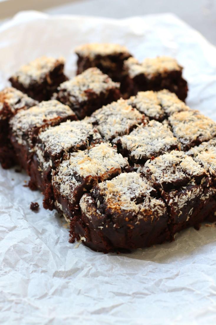 Zwarte bonen brownies www.jaimyskitchen.nl