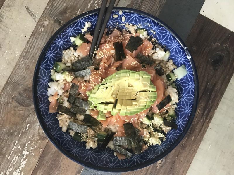 sushi bowl jaimyskitchen.nl