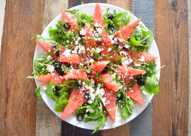 Watermeloen salade www.jaimyskitchen.nl