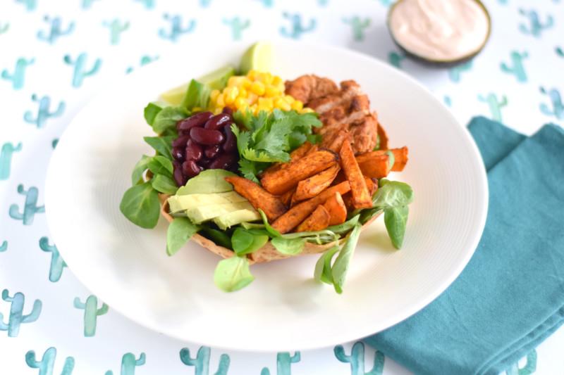 Mexicaanse salade www.jaimyskitchen.nl