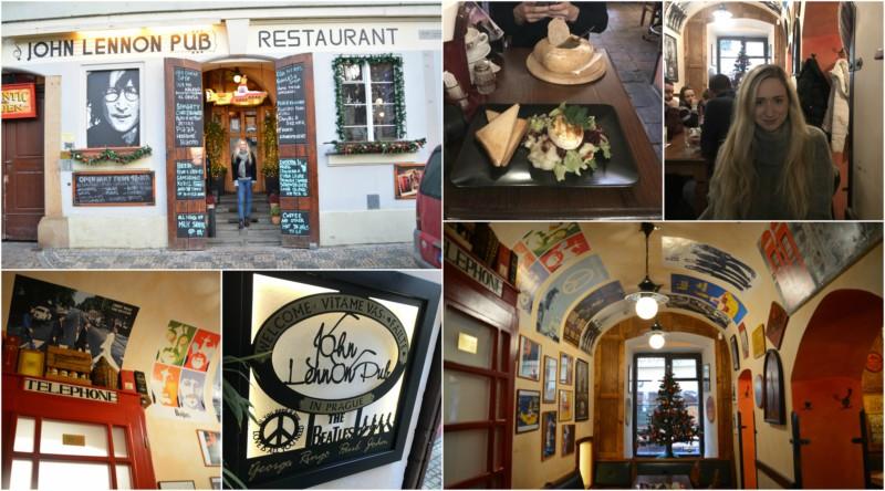 John Lennon Pub Praag www.jaimyskitchen.nl