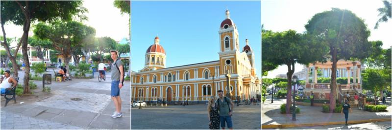 Granada Nicaragua Parque Central www.jaimyskitchen.nl