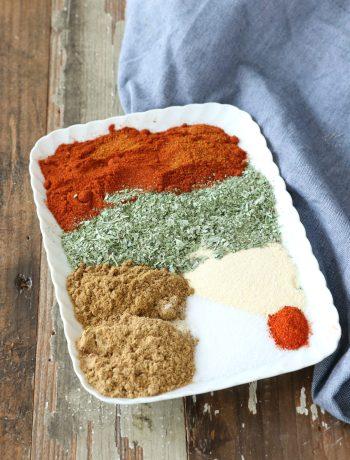 Welke kruiden zitten in Mexicaanse kruidenmix www.jaimyskitchen.nl