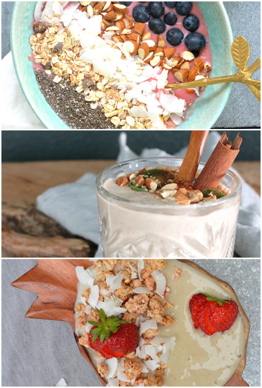 smoothie en smoothie bowls www.jaimyskitchen.nl