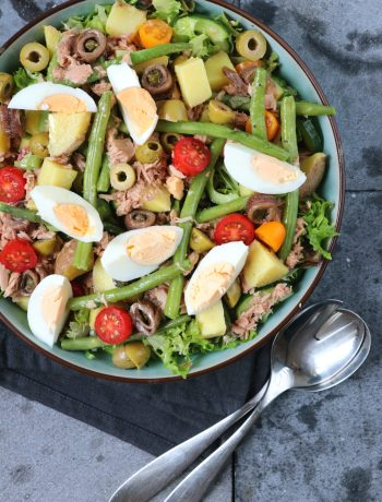 Salade nicoise recept www.jaimyskitchen.nl