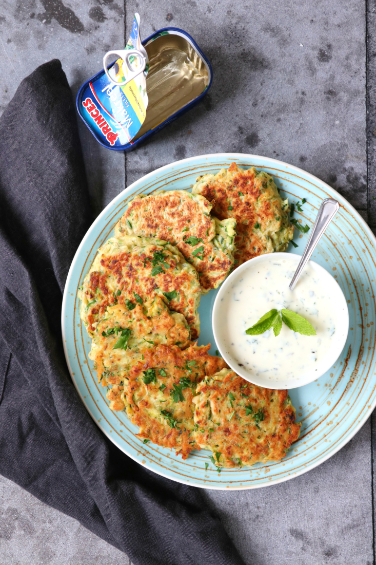 Courgette en vis burgers recept www.jaimyskitchen.nl
