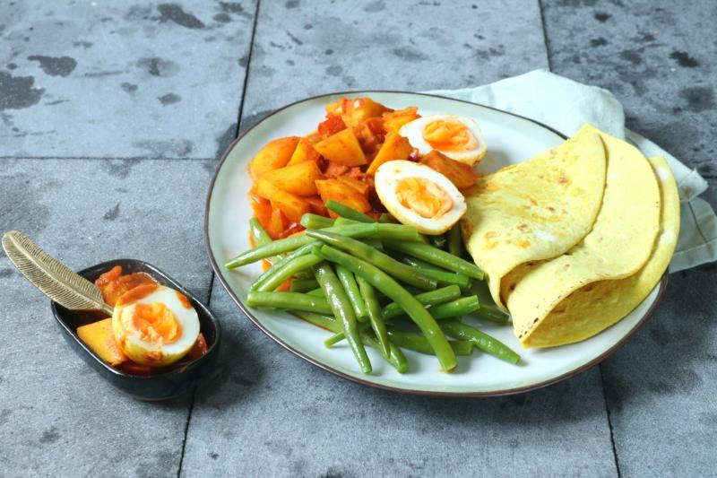 Surinaamse roti recept www.jaimyskitchen.nl