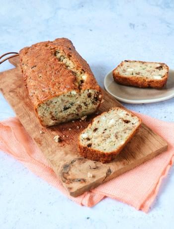 recept hartige courgette cake met feta kaas www.jaimyskitchen.nl