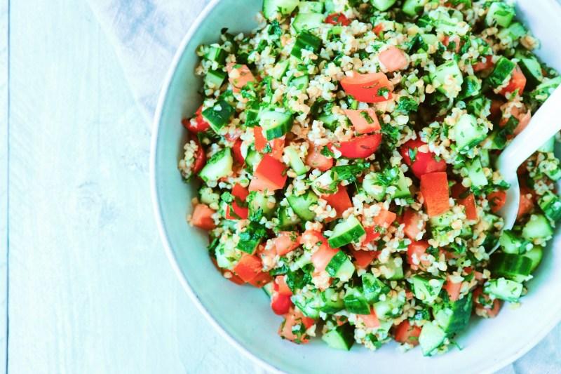 Recept tabouleh libanese salade www.jaimyskitchen.nl