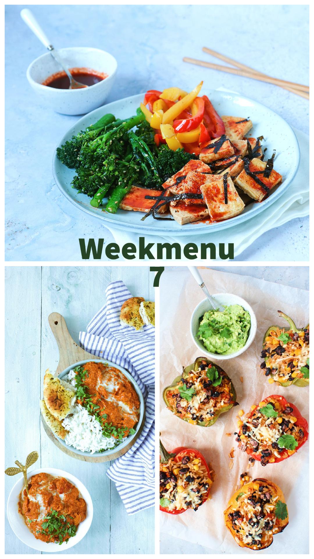 Weekmenu 7 www.jaimyskitchen.nl